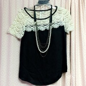 Lauren Conrad lace blouse